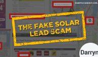 Solar Scam Fake Solar Leads Darryn Van Hout